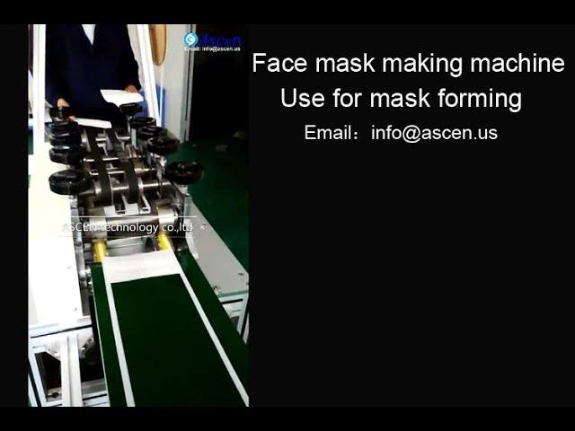 medical face mask production machine