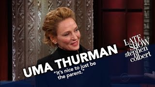 Uma Thurman Risks Stephens Ire For Turning Down Lord Of The Rings
