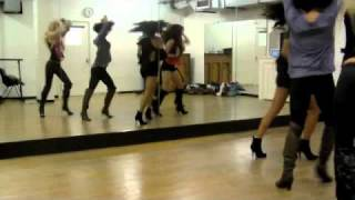 The Beach Girl 5 - Dance Rehearsal: Scratch