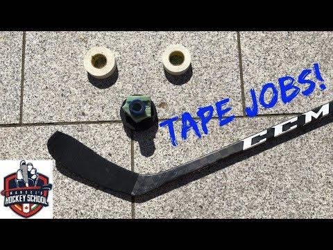 Eishockeyschläger Tapen/ How to Tape your Hockey Stick