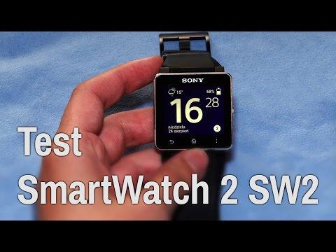 Recenzja Sony SmartWatch 2 SW2