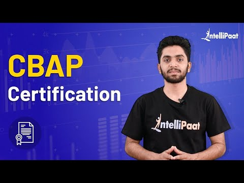 Certified Business Analysis Professional | CBAP Certification Training