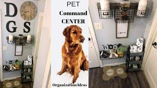 Pet Organization Ideas| How To Organize Your Pet Supplies