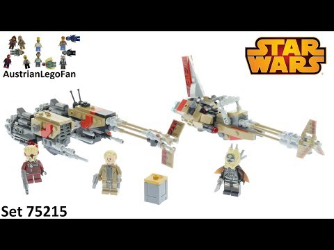 Vidéo LEGO Star Wars 75215 : Cloud-Rider Swoop Bikes