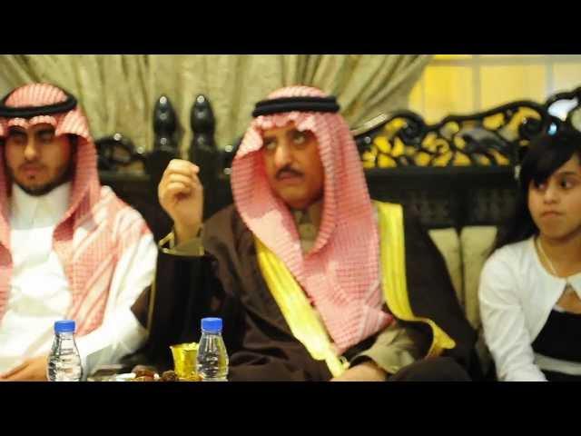 الامير احمد بن عبدالعزيز يزور ال ضرمان بعد قبول شفاعته