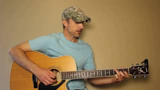 The Blues Man - Alan Jackson - Guitar Lesson | Tutorial