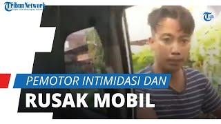 Pemotor Teror Pengemudi Wanita di Palembang, Berakhir Diteriaki dan Ketakutan