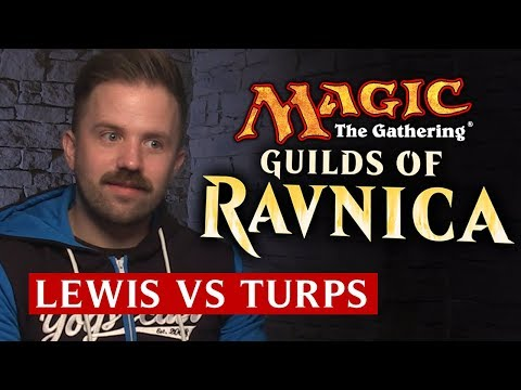 Magic The Gathering: Guilds of Ravnica Tournament | Lewis Vs Turps