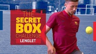 THE SECRET BOX CHALLENGE | Lenglet