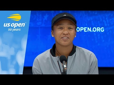 """Reporter asks Naomi Osaka """"Why did you feel the need to apologize"""" for beating Serena Williams at the U.S. Open?"""
