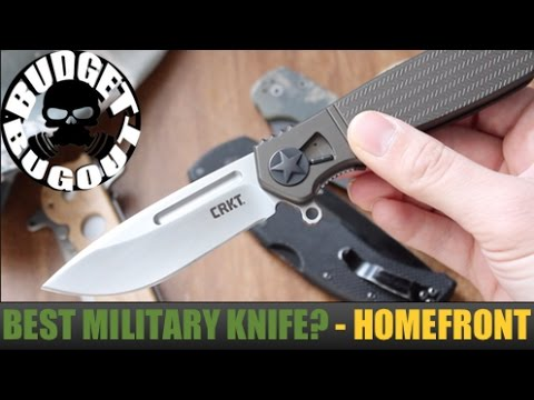The Best Military Pocket Knife for Deployments? The Homefront | Tactical, EDC, Outdoor Pocket Knife