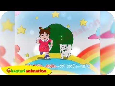 Garuda pancasila  lagu nasional indonesia    kastari animation official