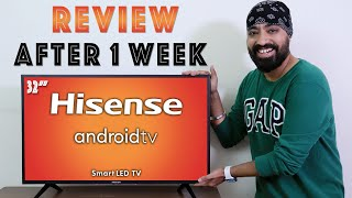 Hisense 32 Inch TV  - After 1 Week In-Depth REVIEW - Everything you need to Know!