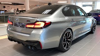 New! 2021 BMW M5 Competition LCI   First Time Spotted   Visual Review Of This 2020 /2021 625 HP F90