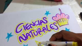 Como marcar cuadernos para niña rápido Cómo marcar