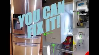 Samsung French door defective ice maker - Самые лучшие видео