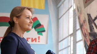 Ольга Бабенко - почётный гость на закрытии 21-го турнира по баскетболу имени Вадима Гурова