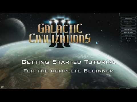 Galactic Civilizations III - Beginner Tutorial