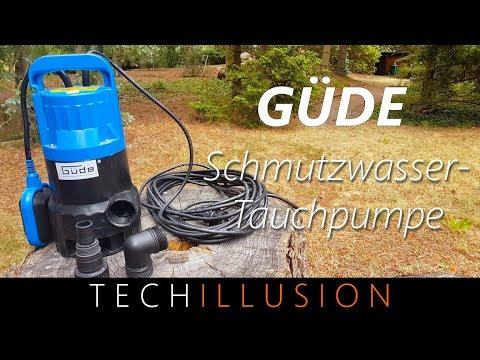🛠GÜDE Schutzwassertauchpumpe im Test - Güde GS4000 - Review & Test