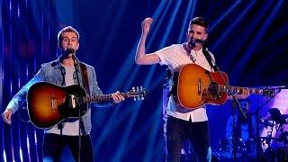 The Mac Bros. perform 'Bohemian Rhapsody/ Johnny B. Goode/ Oh My God' - The Voice UK 2015 - BBC One