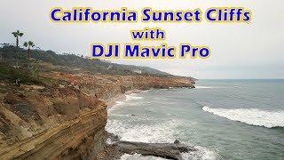 California Sunset Cliffs with DJI Mavic Pro Drone