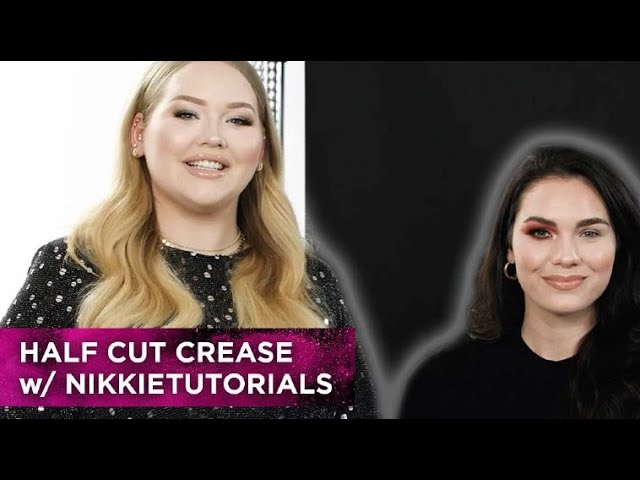 Half Cut Crease - NikkieTutorials