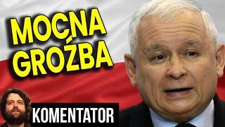 Prezes Jarosław Kaczyński WPROST Grozi Polakom Sprzeciwiającym Się Woli PIS