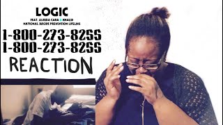 Logic 1 800 273 8255 Ft. Alessia Cara, Khalid REACTION (Cries Hard Without A Care)