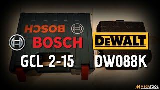 Bosh GCL 2-15 VS Dewalt DW088K