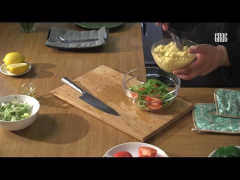 Салат из кускуса с помидорами - Блюдо дня.