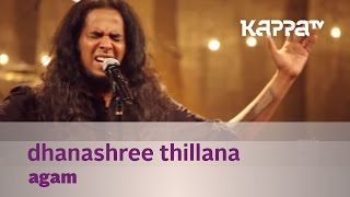 Dhanashree Thillana - Agam - Music Mojo - Kappa   - YouTube