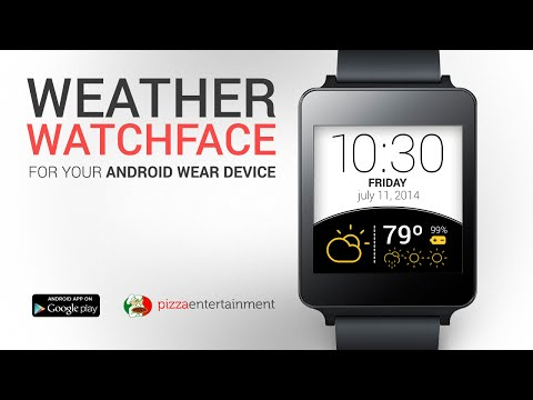 Video of Weather Watch Face