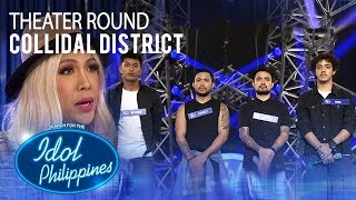 "Collidal District sings ""Iris"" at Theater Round 