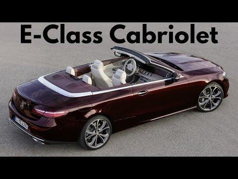 Mercedes E-Class Cabriolet Avantgarde - Premium-class Fabric Soft Top