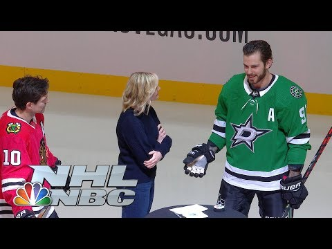 Patrick Sharp, Tyler Seguin square off in shootout for charity | NBC Sports