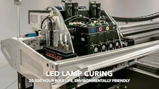 ULTRA UV-LED Flatbed Printer Overview