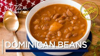 Dominican Beans From Scratch | Habichuelas Guisadas Dominicanas | Chef Zee Cooks