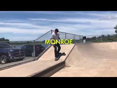 Monroe skatepark