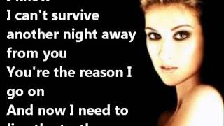 Celine Dion   I SURRENDER+LYRICS