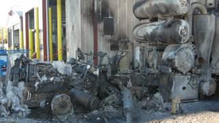Vacuum Truck Explosion Injures Worker