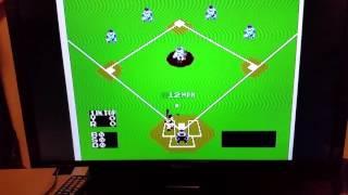 NES Baseball 12 mph pitch - Video Youtube