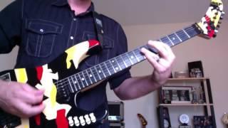 Dokken - Stop Fighting Love (guitar cover)