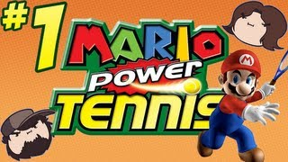 Mario Power Tennis: The Rules of the Game - PART 1 - Game Grumps VS