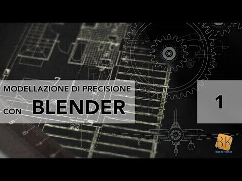 Modellazione di precisione con Blender - Lezione 1