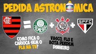 Flamengo exige da Globo cota maior do que as de SPFC, Corinthians e Palmeiras somados, pelo Carioca