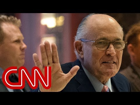 Rudy Giuliani joins Trump's legal team