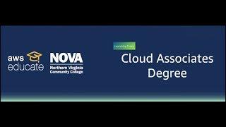 AWS and NVCC Announce Cloud Associates Degree
