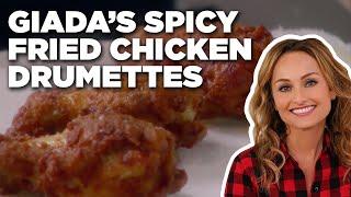 How To Make Giadas Spicy Fried Chicken Drumettes   Food Network