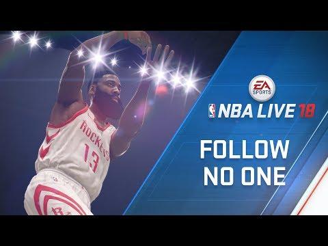 NBA LIVE 18 Cover Athlete James Harden thumbnail