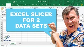 Learn Excel - Slicer For Two Data Sets - Podcast 2198